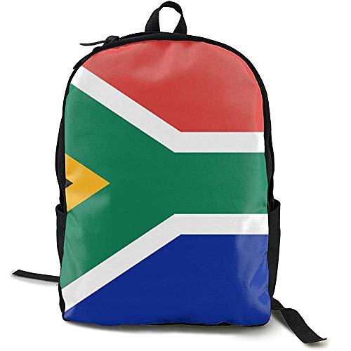 Rugzak, reisrugzak voor grote luiers, rugzak voor school, Afrikaanse vlag voor dames en heren