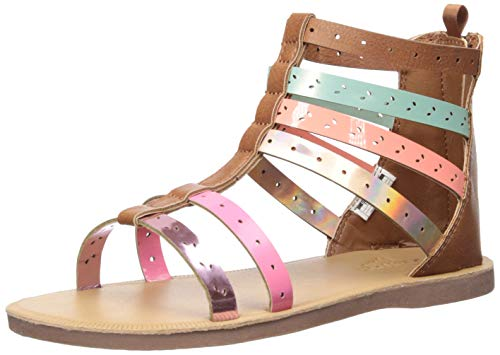 OshKosh B'Gosh Mila Girl's Embellished Gladiator Sandal, Multi, 5 M US Toddler