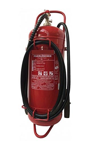 50kg ABC-Pulver Dauerdruck Feuerlöscher fahrbar DIN EN 1866 - Löschwagen MBS-FIRE®