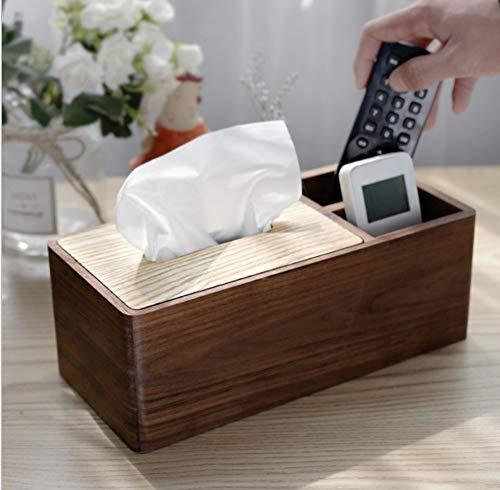 Schwarz Nussbaumholz Handtuch Box Wohnzimmer Massivholz Handtuch Box Holzhaushalt Zeichenbox Neue Chinesische Serviette Papier Zeichenbox