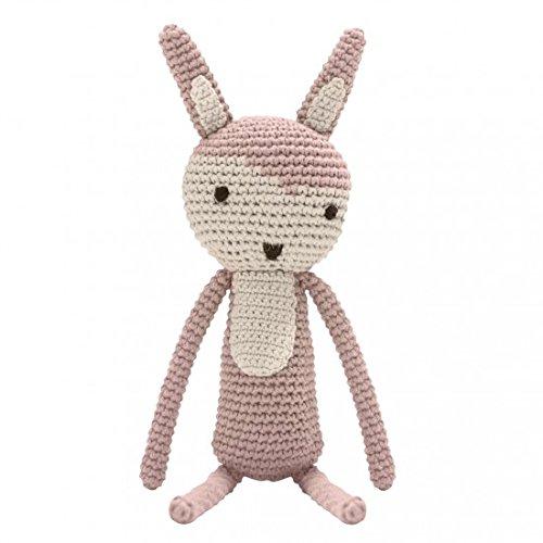 Häkel-Tier, Siggy das Kaninchen, Midnight Plum [A]