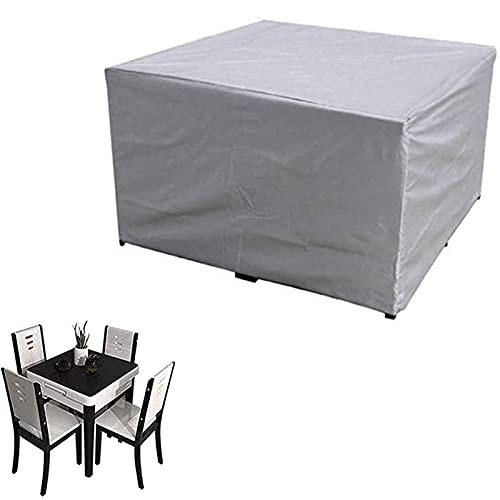 PLZY Garden furniture cover, garden table cover, waterproof cover, protective cover, tarpaulin for garden furniture for garden tables and furniture sets-420D-150x120x60cm
