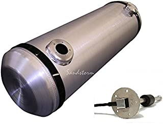Sandstorm 10x30 End Fill Spun Aluminum Gas Tank - 10 Gallon with WEMA Sending Unit - Sandrail - Dune Buggy - Trike - Made in the USA!