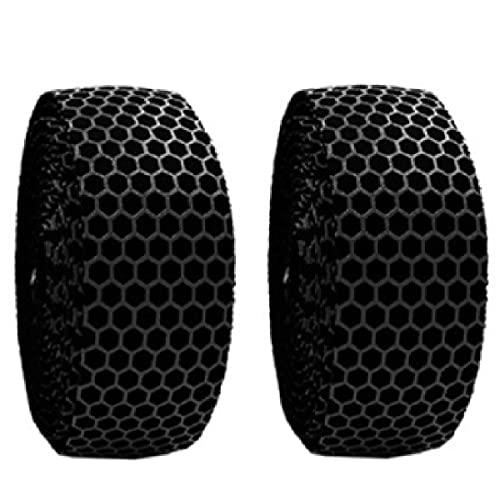TRIWONDER Nastri Manubrio Bici da Corsa Nastro Ammortizzante Anti-sudore per Manubrio MTB (Nero - 2 nastri)