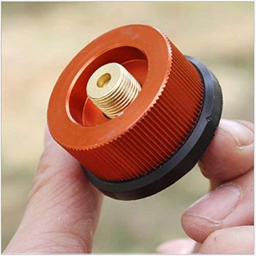 Holzsammlung Outdoor Gas Gasflaschenadapter Weisung Düsenanschluss für Campingkocher Brenner Split Typ Furnace Konverter Anschluss #HO6347-1