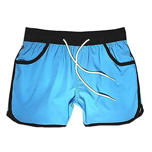 Pantalones Cortos Blancos Mujeres Deportes Fitness Correr Surf Pantalones Cortos de Playa Ocio Bañadores Jersey Pantalones Cortos Hombres XL