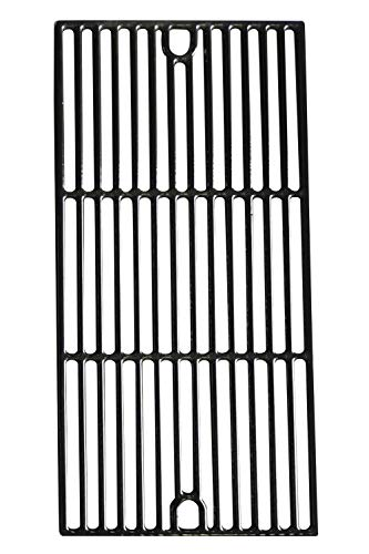 """Hongso PCG241 (1-Pack) Porcelain Coated Cast Iron Cooking Grid Grate Replacement for Kenmore 148.16656010, 148.2368231, 640-05057386-, 90118 and Master Forge SH3118B4 (17 5/8"""" x 8 3/4"""")"""