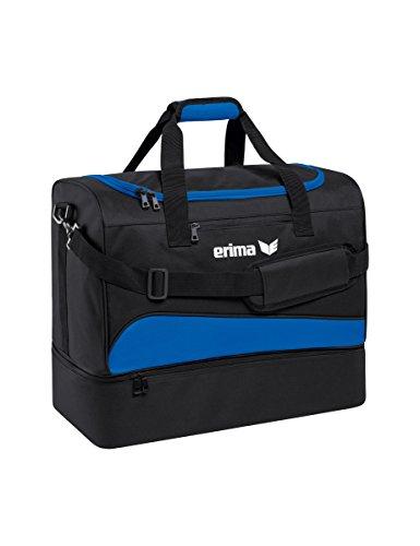 erima Sporttasche mit Bodenfach Sporttasche, 40 cm, 32 Liter, new royal/schwarz