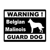 花を張る 車のスタイリングパーソナリティ警告犬の車のステッカー装飾的な窓を保護 (Color : Black)