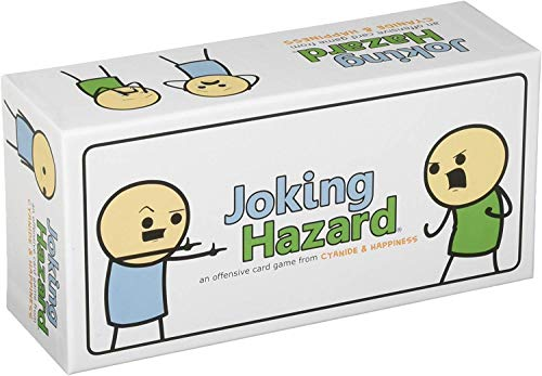 Joking hazard is great games that are great if you like cards against humanity material.