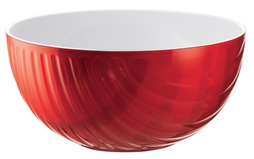 Guzzini 24851245 Mirage – Bol 0,4 L Rouge