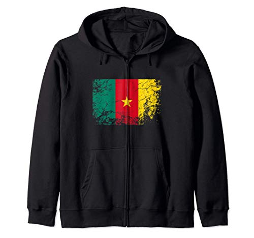 Bandera de camerún - Cameroon Flag Sudadera con Capucha