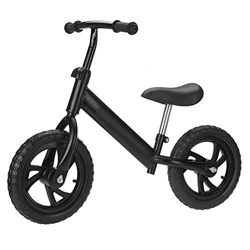 YARUMD FOOD Ciclismo Bambino Bilanciamento della Moto 12 Pollici Ruote Bambino Principiante Rider Training No-Pedale Ultralight Pratica Guida della Bici Bambino Regalo
