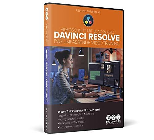 Videoschnitt mit DaVinci Resolve – das umfassende Training für PC, Mac und Tablet