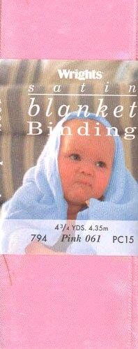 Wrights/Boye NR-279 2in Satin Blanket Binding Pink