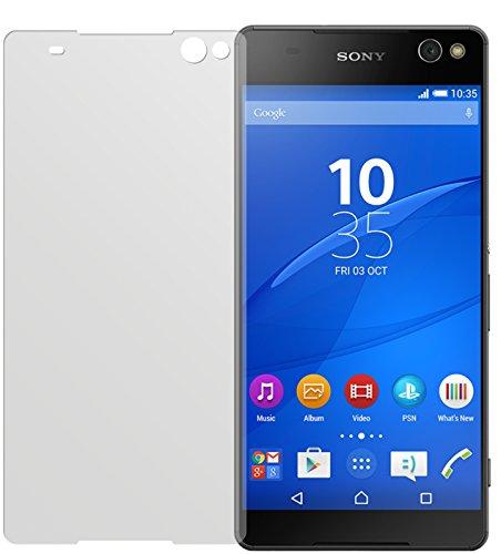 dipos I 6X Schutzfolie matt kompatibel mit Sony Xperia C5 Ultra Folie Bildschirmschutzfolie