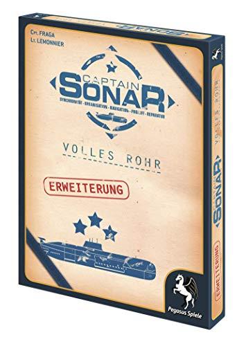 Pegasus Spiele 57012G - Captain Sonar Volles Rohr (Erweiterung)