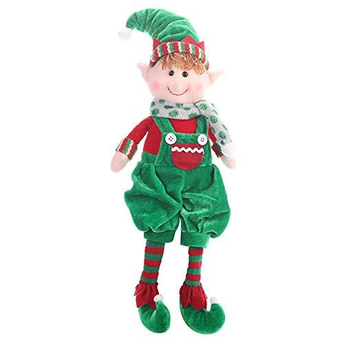 tidystore Weihnachten Elf Puppe Spielzeug für Jungen & Mädchen Home Ornamente Geburtstag Urlaub Weihnachtsdekoration Kinder