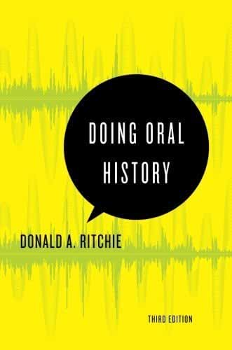 Doing Oral History (Oxford Oral History Series) by Donald A. Ritchie (2014-10-17)