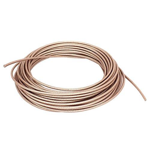 RG316 Koaxialkabel - SODIAL(R) RG316 Kabel Koaxkabel Blei verlustarm RF Steckverbinder Kabel 10M Lange