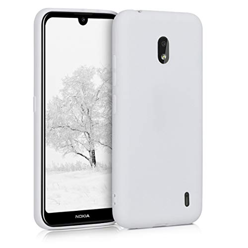 kwmobile Hülle kompatibel mit Nokia 2.2 - Hülle Handyhülle - Handy Hülle in Weiß