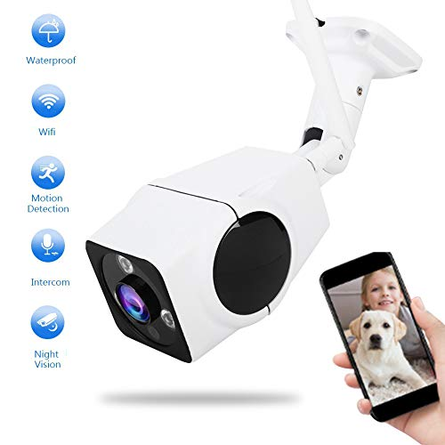 Wifi 360 graden panorama IP Fisheye camera, Home Safety 2-weg audio 3MP FHD 3D VR waterdichte camera