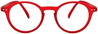 IZIPIZI LetmeSee #D Red Reading Glasses