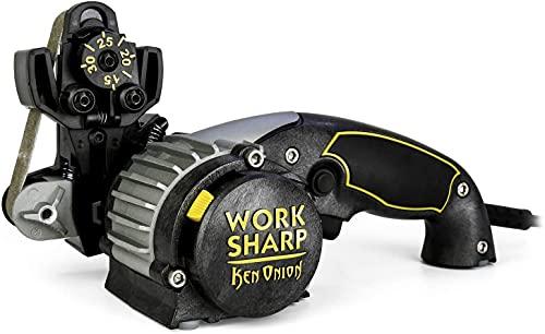 Work Sharp Messer- und Werkzeugschärfer Ken Onion Edition - WSKTS-KO Ken Onion Edition Messer- und Werkzeugschärfer - Weltweit führendes professionelles Schärfwerkzeug
