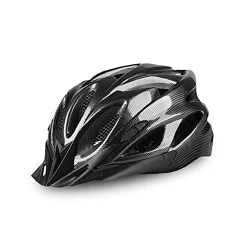 1 st cykelhjälm ridhjälm utomhussport justerbar vuxen cykelhjälm (svart)