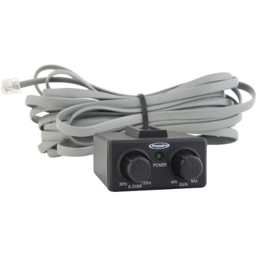 1 - RBCM-250 Bass Remote Control Module, Allows user to control volume of select Bazooka(R) bass tube subwoofers from a remote location, Works with BTAxx250D & BTAxx250D-DE series of 250W Class D amplified Bazooka(R) bass-tube subwoofers, RBCM-250D