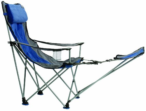 TravelChair Big Bubba Chair, Comfortable Large Folding Camping Chair, Blue