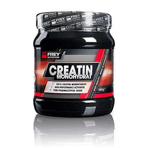 Frey Nutrition Creatin Monohydrat, 1er Pack (1 x 500 g)