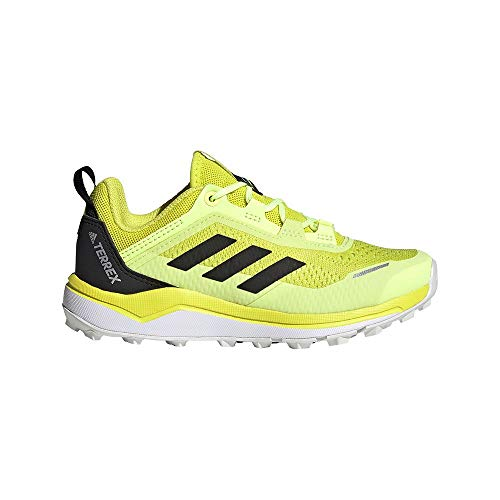 adidas Terrex Agravic Flow K, Zapatillas de Trail Running, AMAACI/NEGBÁS/AMALRE, 33 EU