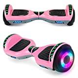 "SISIGAD Hoverboard 6.5"" Self Balancing Scooter with..."
