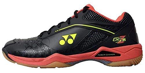 YONEX Power Cushion 65 Z Mens Badminton Shoes, Color- red, Color- red, Shoe Size- 11.5 UK