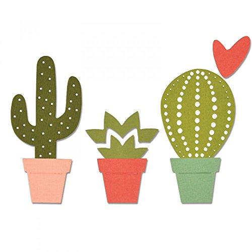 Sizzix Thinlits Fustella, Cactus di Debi Potter