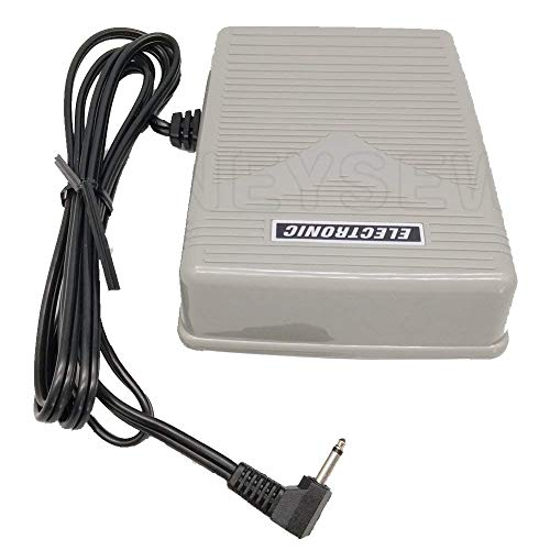 HONEYSEW Electric Foot Speed Control Pedal/Cord 4C-337B for Singer 9960 Quantum Stylist
