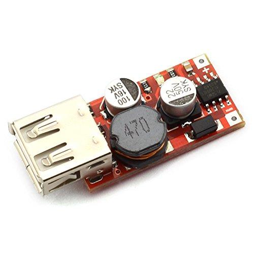 DZS Elec Mini DC 5-36V 36V 24V 12V auf 5V 3A USB Buck Spannungswandler Regler Netzteil Modul USB Aufladen Step Down Spannungsmodul