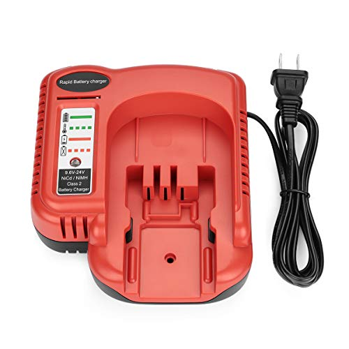 AYTXTG BDCCN24 Battery Charger for Black Decker 9.6V 18V 24V NiCD & NiMH Battery HPB18-OPE HPB18 FS18C HPB14 HPB12 HPB24 Black and Decker 18V Battery Charger