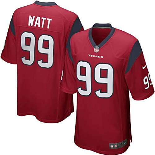 Nike Men's NFL Houston Texans Player Game Jersey JJ Watt 99 Battle Red X-Large