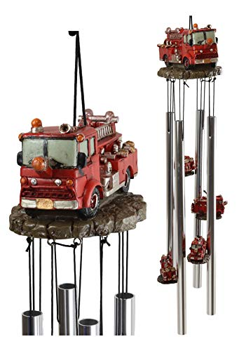 Fire Engine Wind Chimes