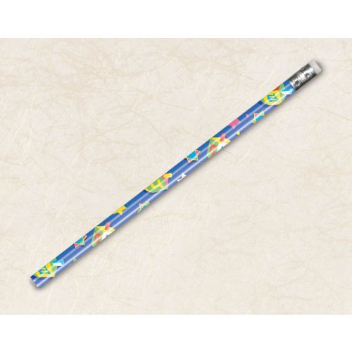 Hanukkah Pencils, 12ct