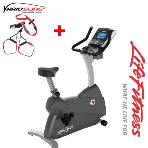 Life Fitness C3 Go Ergometer - Modell 2013/2014 - inkl. Gratis Vario Slingtrainer