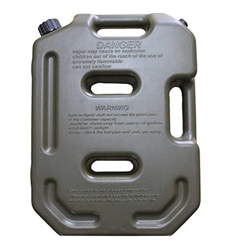 JUYHTY 10L di Ricambio Ad Alta capacità Tanica per Carburante, Anti-Perdita E UV Benzina Taniche per Tosaerba Moto La Maggior Parte dei SUV