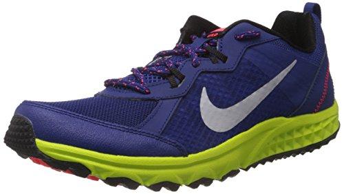 NIKE Wild Trail unisex-sneaker sports shoes in blue, Blau, US8 UK7 EU41