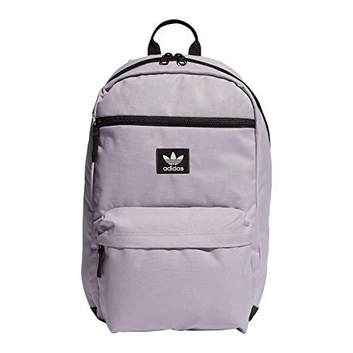 adidas Originals Unisex National Backpack, Soft Vision Purple, ONE SIZE