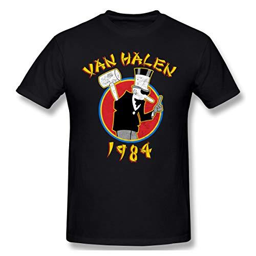 Van Halen 1984 T-shirt, S to 3XL, black