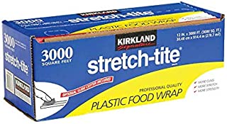 "Kirkland Signature Stretch-Tite 12"" X 3000' Food Wrap"