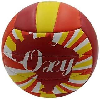 Balon VOLEY Playa Softee OXY - Color Rojo Y Amarillo: Amazon.es ...