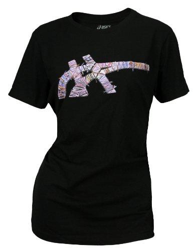 Camiseta de algod¨®n con encaje Asics para mujer (grande)